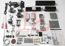 Mini lathe machine Z6000M 6 in 1 Metal Lathe Kit for teaching of school / student DIY Mini Lathe