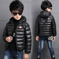 High Quality Boys Winter Jacket Coat Thick Warm Cotton Coats Kids Hooded Outerwear Casual Boy Down Parka Children Clothing