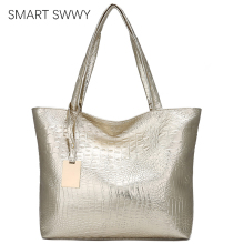 Brand Fashion Casual Women Shoulder Bags Silver Gold Black C