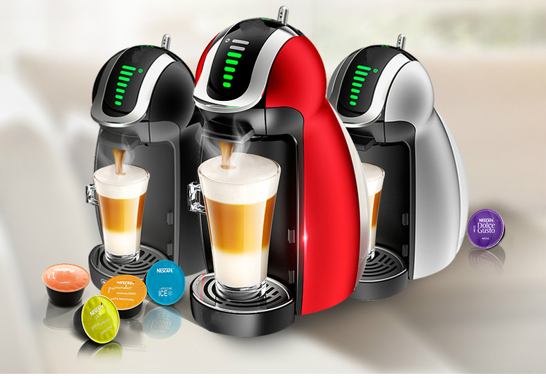 NEW Fashion capsule coffee machine is fully automatic Espresso coffee machine is fully automatic and convenient for cleaning the nespresso