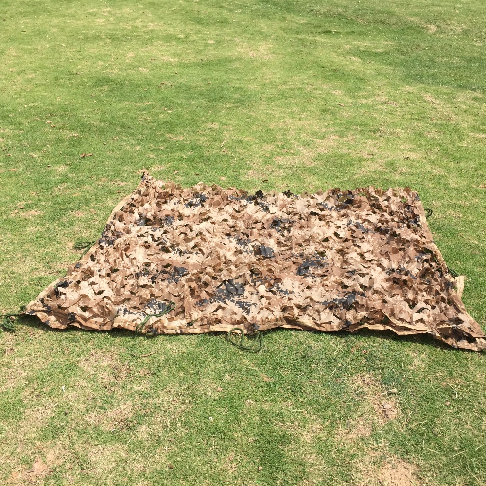 2x6M Hunting Military Hide Camouflage Netting Outdoor Camping Shooting camo netting car Cover Sun Shelters garden