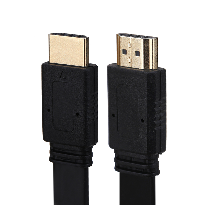 Ultra Slim Profile HDMI Cable 1.8m High Speed with Ethernet Supports HDMI version 1.4 compatible Cable Adapter 3D