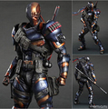 NEW hot 28cm Deathstroke New Teen Titans Enhanced version collectors action figure toys Christmas toy