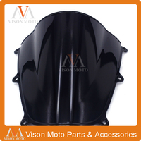Motorcycle Winshield Windscreen For HONDA CBR600RR F5 CBR 600 CBR600 RR 2005 2006 05 06 BLACK