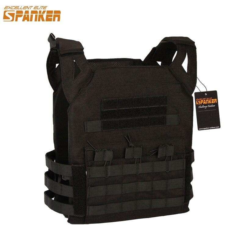 EXCELLENT ELITE SPANKER Outdoor Molle Hunting Vest Clothes Military Nylon Tactical Vest JPC Jacket Series Tactics CS Vests