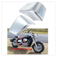 3 Colors Motorcycle Battery Side Cover Frame Neck Cover Cowl For Honda Shadow ACE VT400 / VT750 1997 2003 98 99 00 01 02