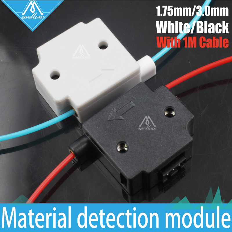 Mellow 3D Printer Parts Material detection module for 1.75mm/3.00mm filament detecting module monitor sensor Mechanical Endstop