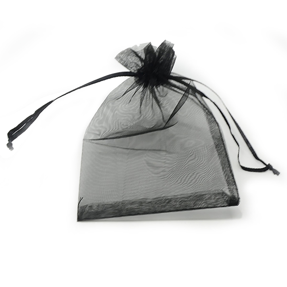 100pcs 24 Colors Jewelry Bag 5*7 7*9  9*12  10*15cm Wedding Gift Organza bag Jewelry Packaging Display & Jewelry Pouches 6