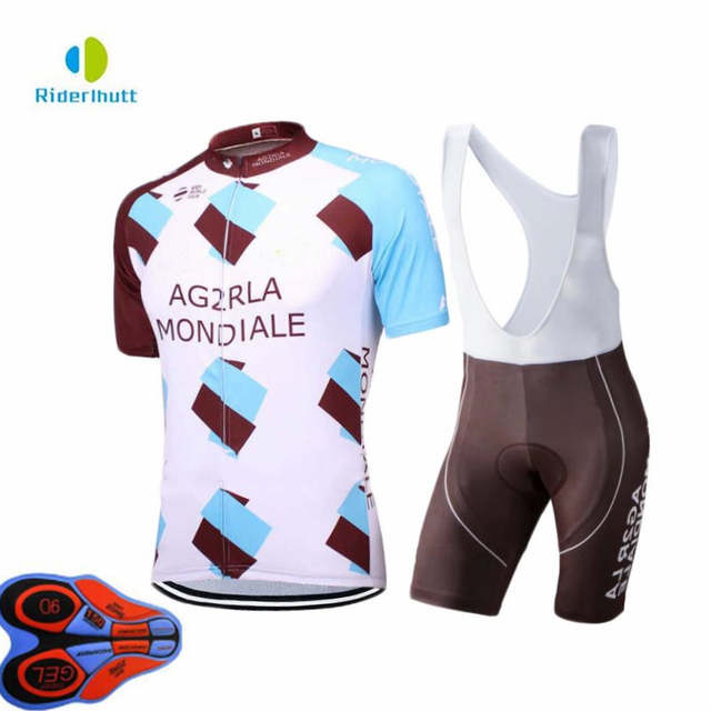 2018 pro team AG2R cycling jerseys Short sleeve bike cloth MTB Ropa  Ciclismo Bicycle maillot jersey 94f9ea384