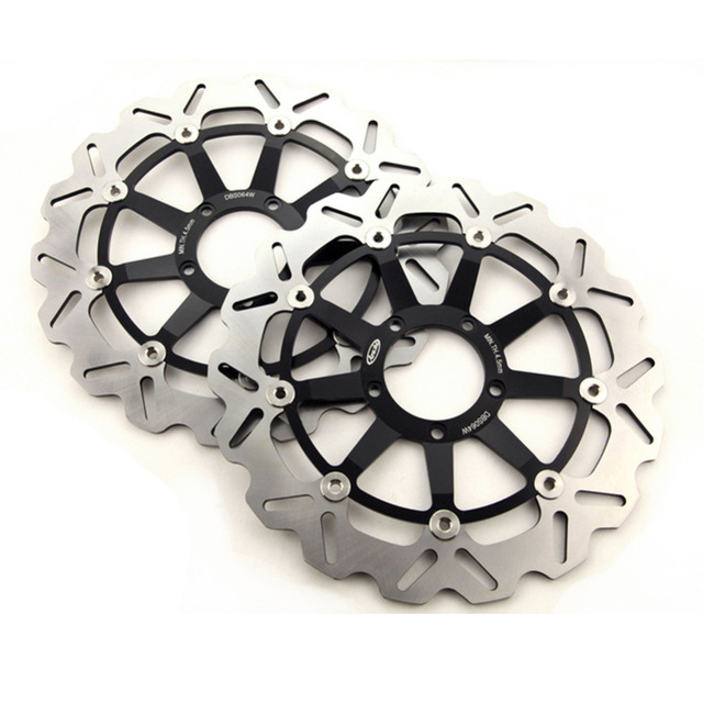 Arashi Front Brake Disc Rotor For Ducati 749R 749S 2003-2007 & 999 999S 2003-2006 & 998 998S 2002-2003 & 749 749R Dark 2004-2007