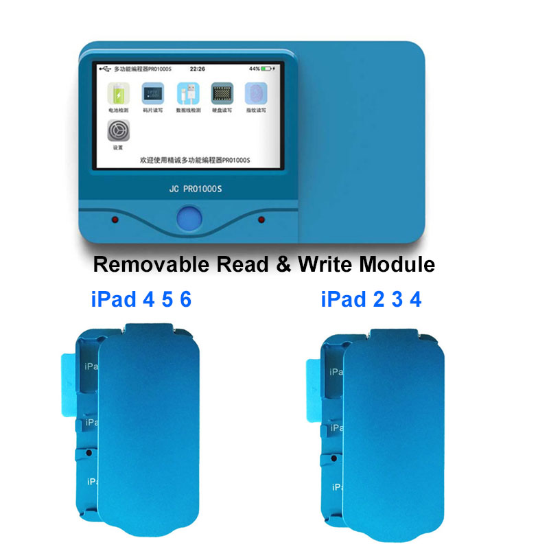 JC PRO1000S Non Removal NAND Programmer SN Read Write Tool iPad 2 3 4 5 6
