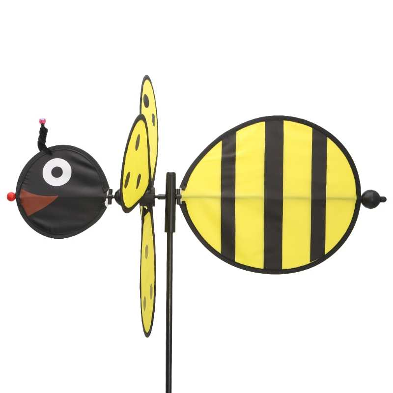 Большая пчела ветряная мельница вихрегиг ветер Спиннер домашний дворовый садовый декор Детская игрушка