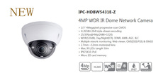 DAHUA IP Cctv Камеры 4MP WDR ИК Купольная Сетевая Камера IP67 IK10 С POE Без Логотипа IPC-HDBW5431E-Z