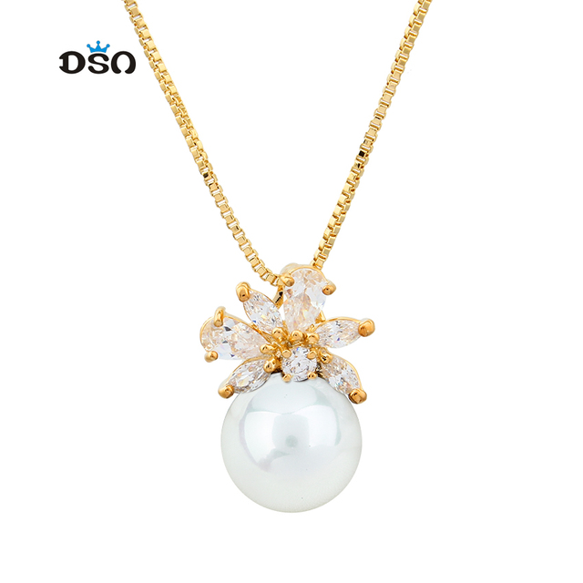 Fashion famous brand for women dress charms jewelry wholesale flower fashion famous brand for women dress charms jewelry wholesale flower meaning imitation pearl crystal pendant necklace aloadofball Choice Image