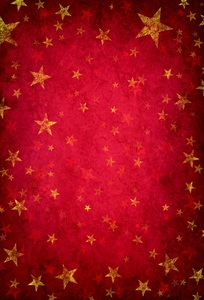 Image 4 - Laeacco Photography Backdrops Gold Star Red Gradient Solid Color Wall Party Pattern Baby Photo Background Photocall Photo Studio