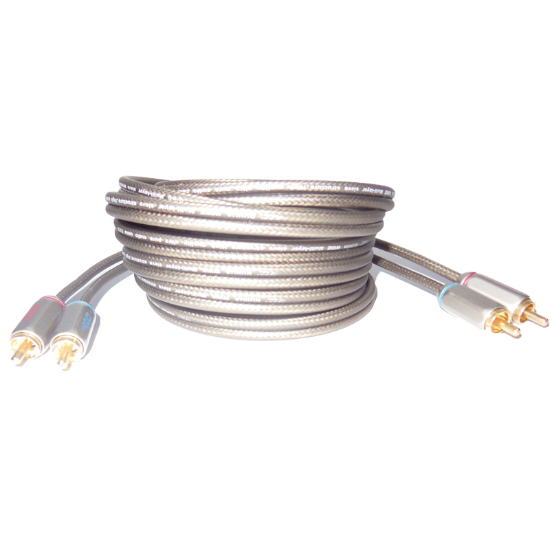 High Quality 5m RCA Interconnect Cable Auto Amplifier Speaker Wire ...