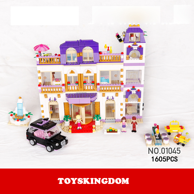 Hot my good friends girls clubs heartlake grand hotel building block andrea stephanie figures cars bricks 41101 toys for kids hot sale bela 10162 girls friends andrea marie s cafe building block sets abs figures assemble bricks compatible with lego toys