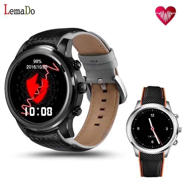 LEMADO LEM5 Android 5.1 smart watch MTK6580 1 ГБ/8 ГБ SmartWatch Телефон Bluetooth/GPS/Wi-Fi Поддерживается наручные часы