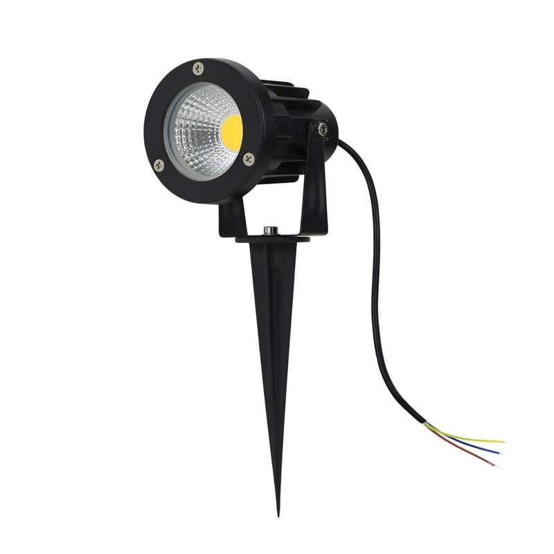 85-265 V/DC12V IP65 Taman Outdoor LED Lampu Landscape AC110v 220V 5W LED 10W rumput Spike Pin Lampu Kolam Jalan Lampu Lampu