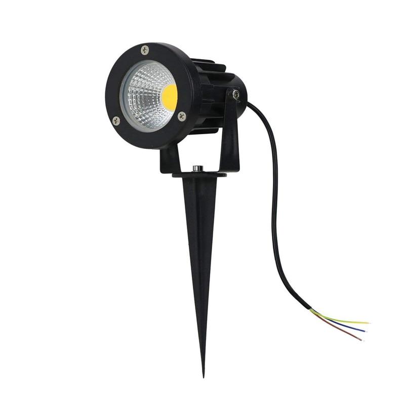 85-265 v/dc12v ip65 야외 정원 led 풍경 빛 ac110v 220 v 5 w 10 w led 잔디 스파이크 핀 빛 연못 경로 스포트 라이트 램프