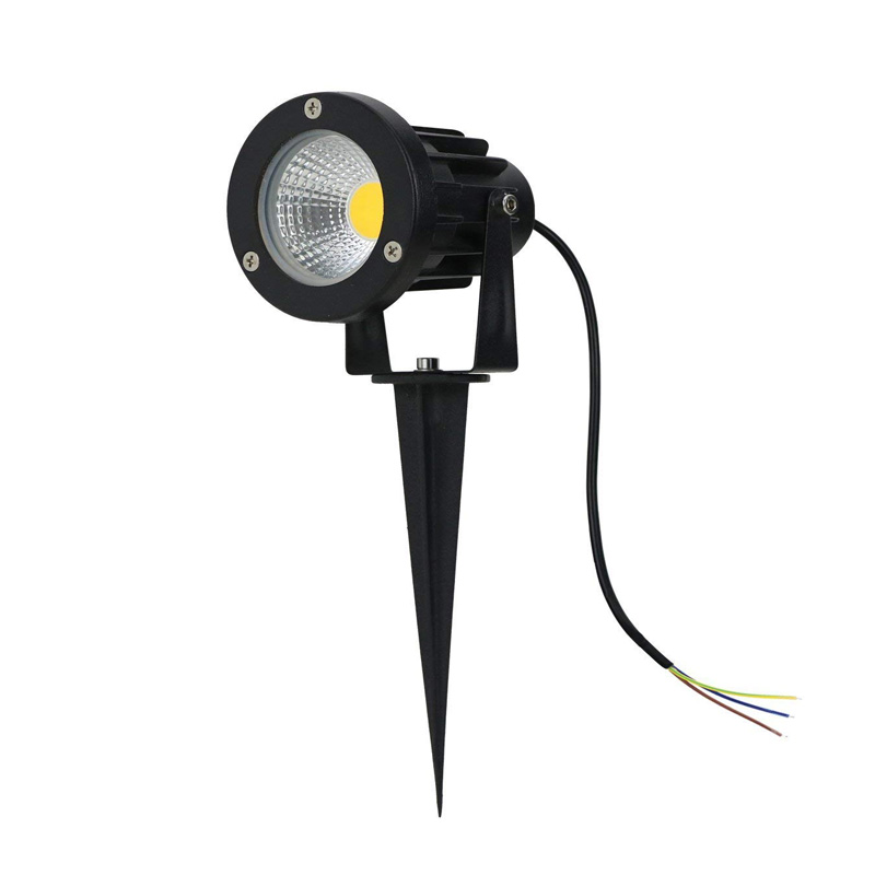 85-265V/DC12V  IP65 Outdoor Garden LED Landscape Light AC110v 220V 5W 10W  LED Lawn Spike Pin Light Pond Path Spot Light Lamp