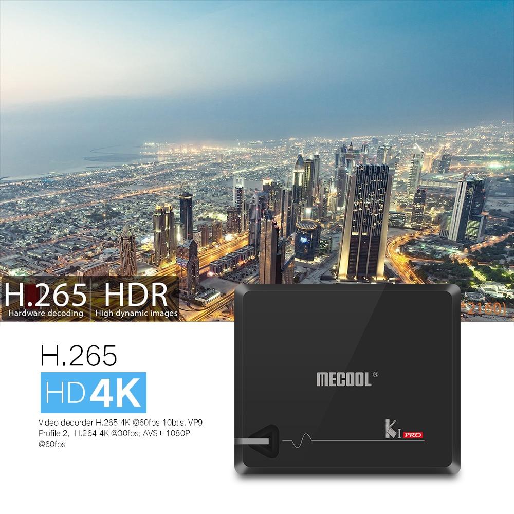 MECOOL KI PRO TV Box DVB-C DVB T2+S2 Android 7.1 Amlogic S905D Quad 2G+16G BT4.0 wifi Smart Media Player pk xiao mi Set Top Box 10pcs kii pro 2gb 16gb dvb s2 t2 5 1 android tv box amlogic s905 quad core support dvb s2 dvb t2 smart media player