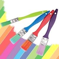 4Pcs Nylon Hair Paint Brush Set Kid Acrylic Watercolor Oil Painting Supplies materiales de arte brochas qiang