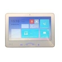 Comprar ahora Hikvision DS-KH8501-A (DS-KH8501-WT) interior pantalla táctil de vídeo 10 pulgadas Monitor 1024X600 0.3MP Cámara, timbre con cable