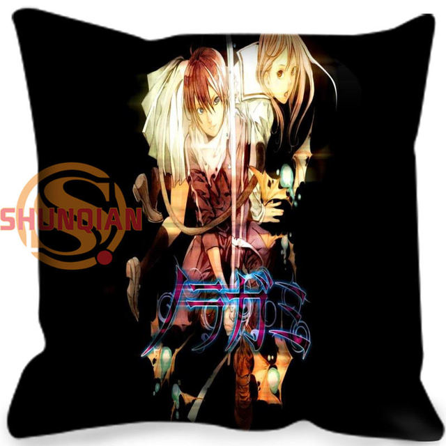 New arrival Noragami Anime Style throw Pillowcase Square Zippered Pillow Cover Custom Gift H@0209-125