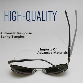 AORON Men Polarized Sunglasses Retro Classic Pilot Glasses Brand Goggoles Leisure UV400 Protection Metal Frame Oculos de sol 6