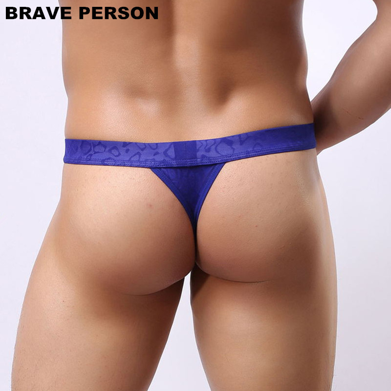 DRAAG PERSOON Mannen Sexy Lace Transparante Persoonlijke Slips Bikini - Ondergoed - Foto 6
