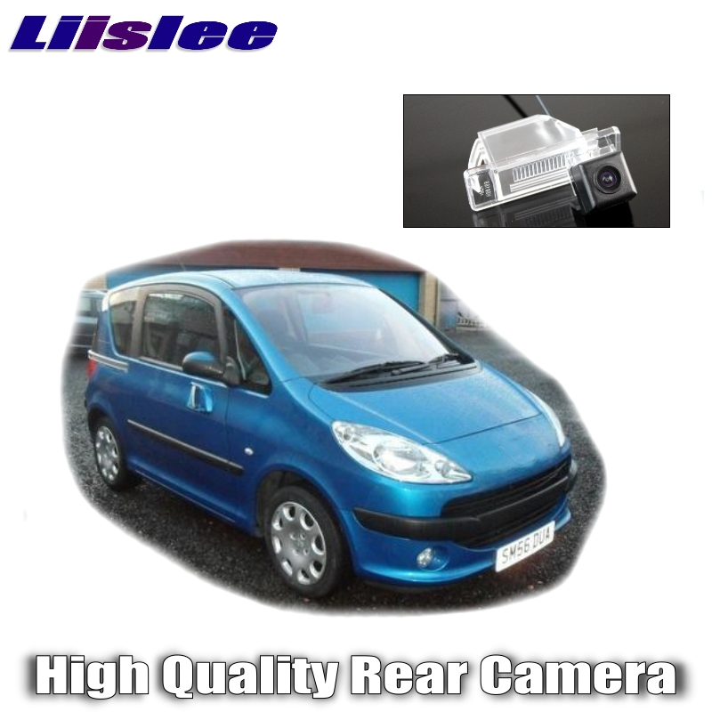Lisslee Car Camera For Peugeot 1007 107 2004~2015 High Quality Rear View Back Up Camera For Friends to Use  CCD + RCA