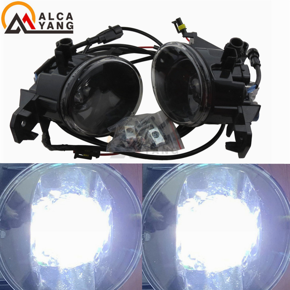 Malcayang LED oeil de diable avant pour Nissan Qashqai J10 JJ10 2007-2013 lampes antibrouillard haute luminosité style de voiture