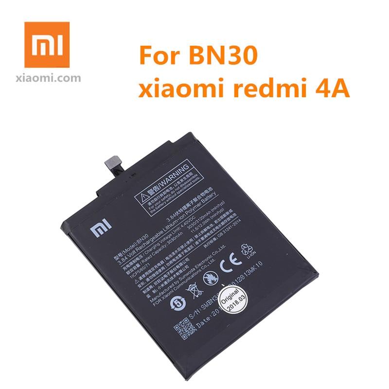 100% оригинальный телефон Xiaomi, аккумулятор для Xiaomi Redmi 4A BN30, 3120 мАч, аккумулятор redmi 4A, высокое качество + Инструменты