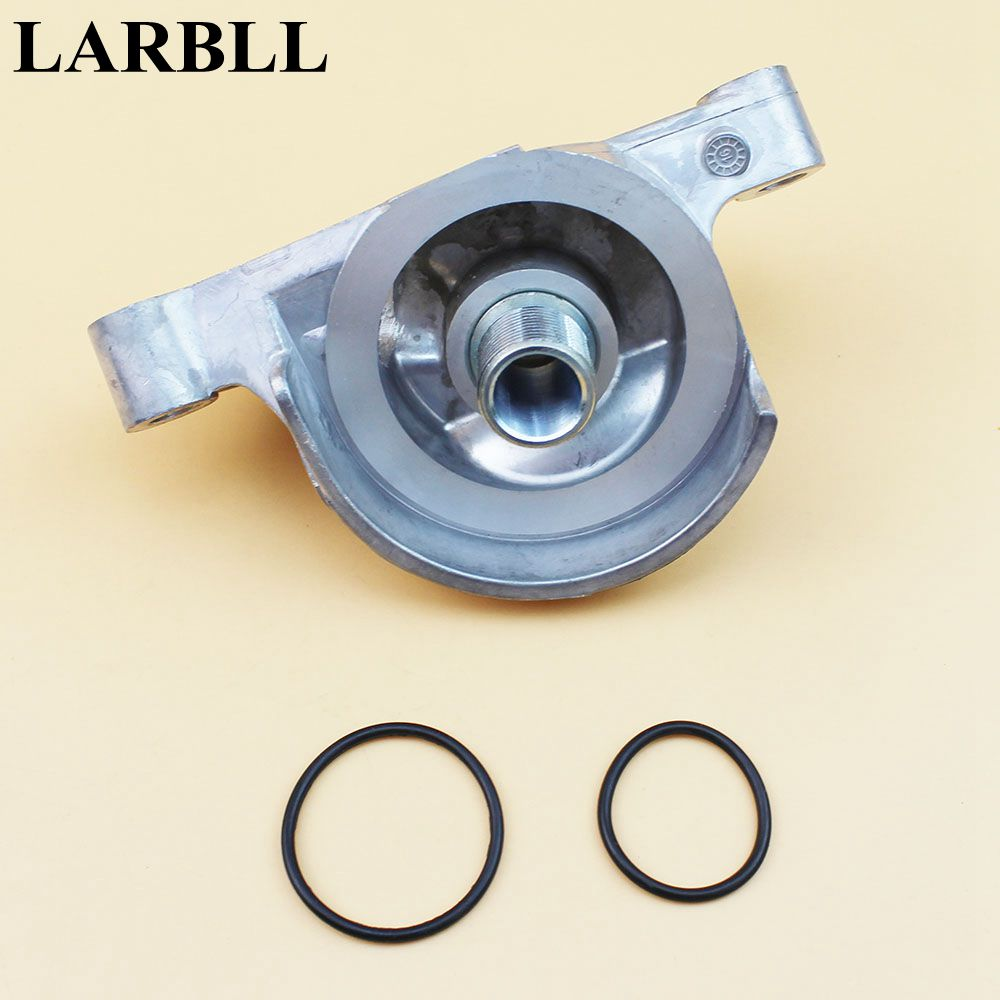 LARBLL Car Styling Engine-Oil Filter Housing Base 15310R40A00 fit For Honda CR-V Crosstour Accord Acura TSX ILX power steering pump for honda acura rsx tsx accord cr v element 56110pnba01 215419 9319299 psp2225h 96360m 965419 56110pnb a0