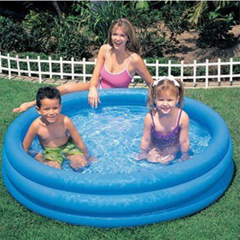 Large Swimming Pool Children Swimming Pools 147*33CM Baby Inflatable Piscina Infanti For Adults Paddling pool free Shipping dual slide portable baby swimming pool pvc inflatable pool babies child eco friendly piscina transparent infant swimming pools