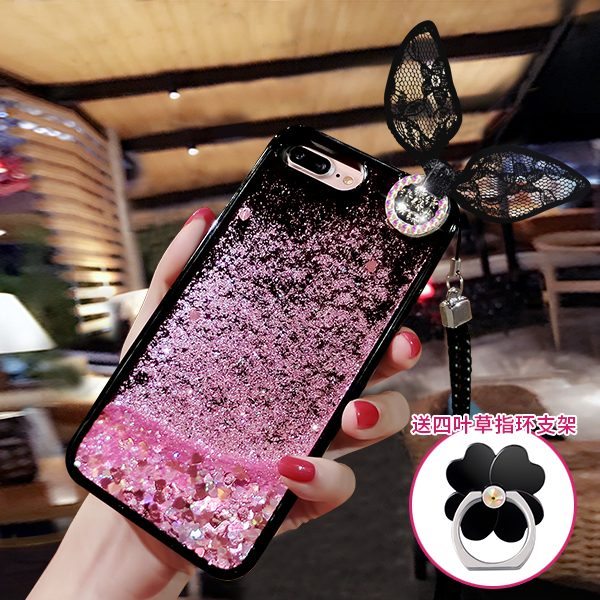 Cellphones & Telecommunications Half-wrapped Case Selfless Glitter Liquid Sand Quicksand Star Case For Iphone 6 6s 6 Plus 6s Plus 7 7 Plus Transparent Clear Hard Cover With Stand Diyabei