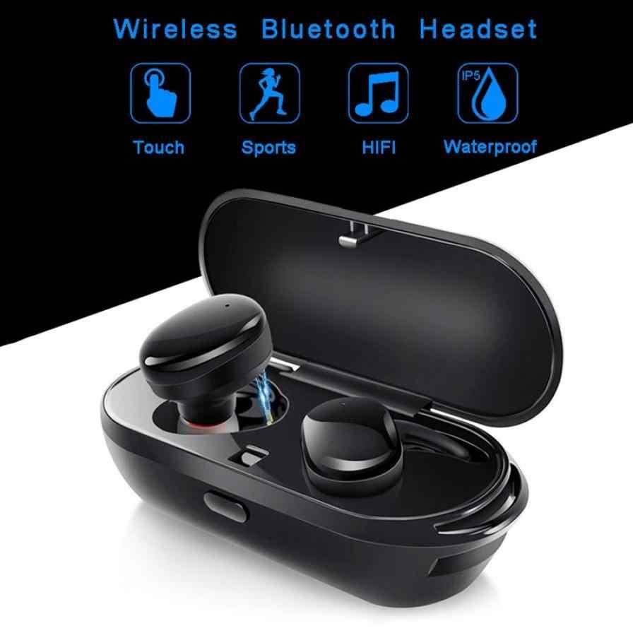 Размер Беспроводной наушники TWS Bluetooth наушники гарнитура T2C беспроводные наушники мини спортивные наушники-капельки дляимузыка громкой связи Bluetooth гарнитура для телефонов