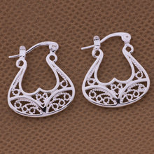 925-sterling-silver brincos earings fashion jewelrywholesale free shipping 925 silver Fashion jewelry errrings WE-480(China)