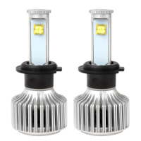2pcs H7 LED Car Headlight Head Lights Lamps Version Of X7 All In One Waterproof Automobiles