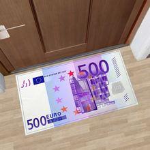 Индивидуальный дизайн евро деньги добро пожаловать коврики ковры
