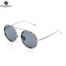 EE Moda Rodada Óculos De Sol Dos Homens óculos de Sol Para As Mulheres Polarizada óculos de Sol Espelho óculos de Sol Óculos de Oculos de sol Masculino