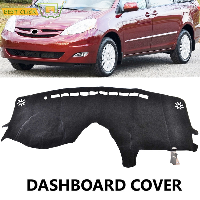 Detail Feedback Questions About Xukey Dashboard Cover Dash Mat Dashmat For Toyota Sienna 2004 2005 2006 2007 Board Pad Sun Shade Carpet On