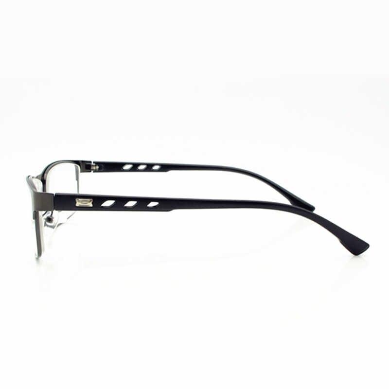 Очки для близорукости SWOKENCE Diopter-1,0 до-6,0, мужские и женские модные очки с оправой из сплава для близорукости, продукция F174