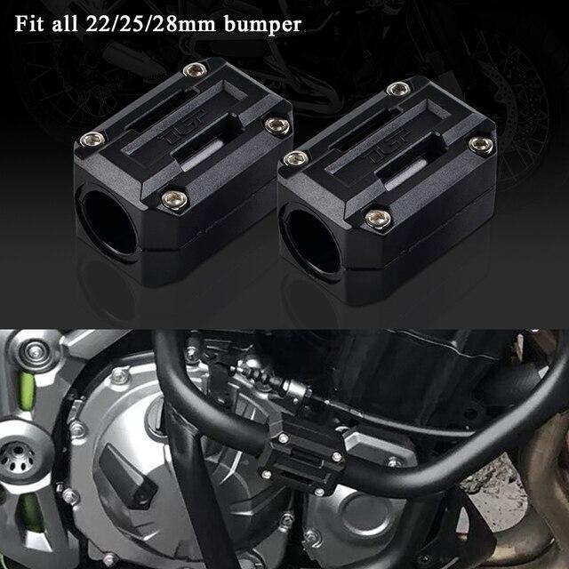 22/25/28 ミリメートルエンジン保護ガードバンパー装飾ブロックヤマハXT1200Zスーパーtenere xt 1200Z