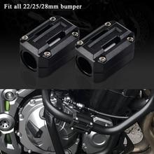 22/25/28mm Motor Schutz Schutz Stoßstange Dekor Block Für Yamaha XT1200Z Super Tenere XT 1200Z