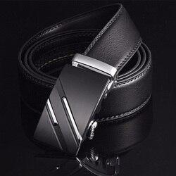 [LFMB] Famous Brand Belt Men Top Quality 정품 Luxury 가죽 벨트로 예쁘게 대 한 Men, 끈 남성 Metal 자동 버클