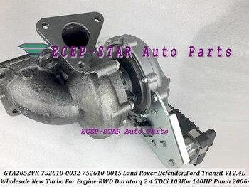 Turbo 752610-5025 s 752610-0015 752610-0012 752610-0010 6C1Q6K682EH LR010138 1355066 6C1Q6K682EL LR018396 Per puma Duratorq 2.4L