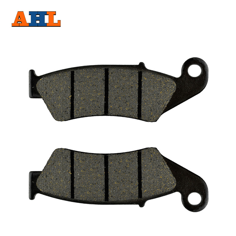 AHL Motorcycle Brake Front Pads For SUZUKI RM RMZ DRZ DR 125 250 350 400 450 650 DIRT BIKE FA185 DR-Z 400 DRZ400 00-09 ahl motorcycle brake front pads for honda crf 150 230 250 450 motorbike parts fa185 crf 230 f l m 08 15