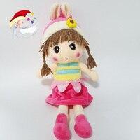 45 cm 4 Kleuren PP Katoen Reborn Babies Pop Mayfair Pluche speelgoed Poupee Chiffon voor Meisjes Best Gift Mooie Pop Decoratieve speelgoed